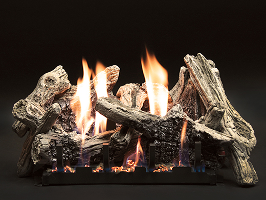 White Mountain Hearth Driftwood gas logs.