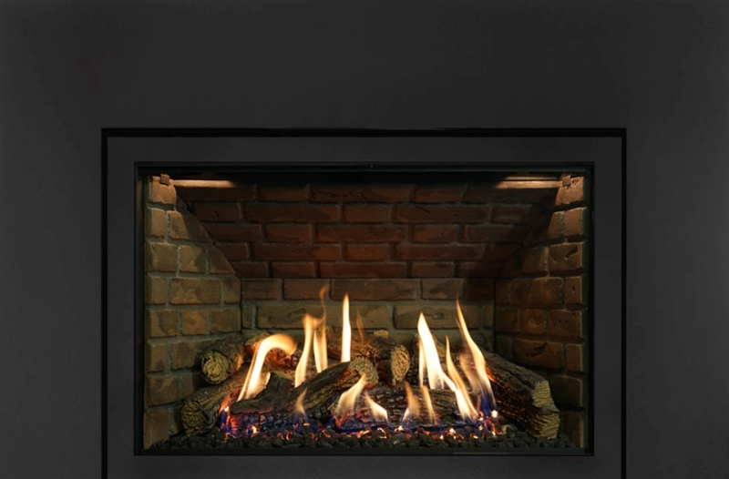 Archgard Chantico 36 direct vent gas fireplace insert.