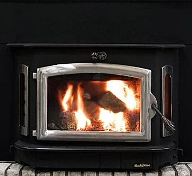 Buck Stove Model 91 fireplace insert.