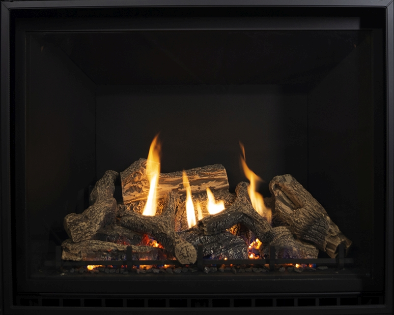 Archgard Sereno 41 direct vent gas fireplace insert.